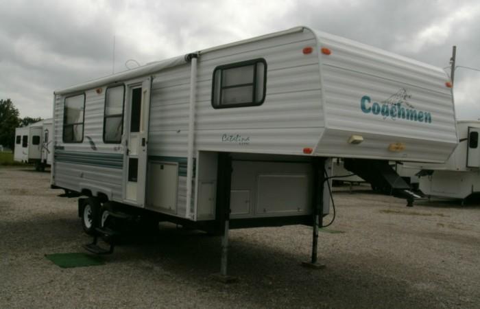 Blue Ridge Tire >> 1998 Coachmen 259RK Catalina Lite 5th Wheel - Chetopa RV Center