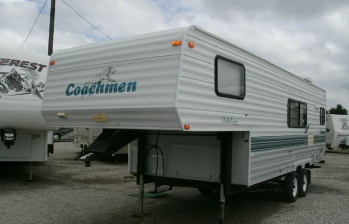 Blue Ridge Tire >> 1998 Coachmen 259RK Catalina Lite 5th Wheel - Chetopa RV ...